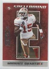 2010 Panini Epix Spellbound #26 Michael Crabtree San Francisco 49ers Card