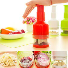 Kitchen Vegetable Onion Garlic Food Chopper Pressing Cutter Slicer Peeler Dicer