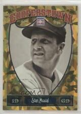 2013 Panini Cooperstown Collection Gold Crystal Shard #56 Stan Musial Card