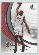 2005-06 SP Game Used Edition #52 Dorell Wright Miami Heat Basketball Card