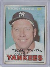 1967 Topps #150 Mickey Mantle New York Yankees Baseball Card