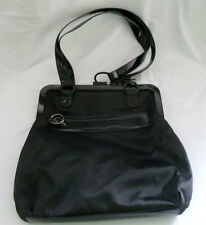 "LeSpotsac boutique ""Monroe Minnie"" black Bag with Shoulder Strap: 13 x 13 x 3 in"