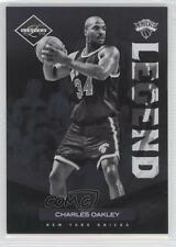 2011-12 Limited #161 Charles Oakley New York Knicks Basketball Card