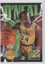1996-97 Skybox Z Force Z-Cling #64 Shaquille O'Neal Los Angeles Lakers Card