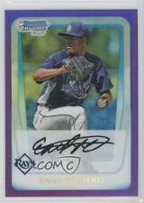 2011 Bowman Chrome Prospects Purple Refractor #BCP192 Enny Romero Tampa Bay Rays