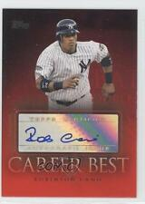 2009 Topps Career Best Autographs Autographed #CBA-RC Robinson Cano Auto Card