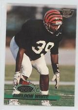 1993 Topps Stadium Club Members Only #451 Sheldon White Cincinnati Bengals Card
