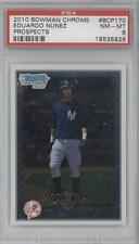 2010 Bowman Chrome Prospects #BCP170 Eduardo Nunez PSA 8 New York Yankees Card