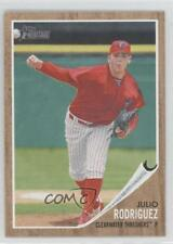 2011 Topps Heritage Minor League Edition 10 Julio Rodriguez Clearwater Threshers