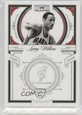 2009-10 Playoff National Treasures #128 Lenny Wilkens St. Louis Hawks Card