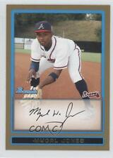 2009 Bowman Draft Picks & Prospects Gold #BDPP45 Mycal Jones Atlanta Braves Card