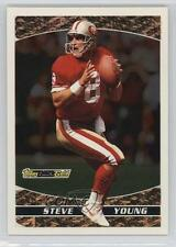 1993 Topps Prizes Black Gold #23 Steve Young San Francisco 49ers Football Card