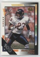 1992 Wild Card 100 Stripe #361 Shaun Gayle Chicago Bears Football