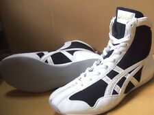 asics Boxing Shoes  Short type Original color Black x pearl white