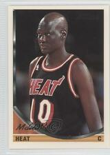 1993-94 Topps Gold #215 Manute Bol Miami Heat Basketball Card