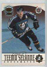1999-00 Pacific Dynagon Ice Checkmates Canadian #17 Teemu Selanne Hockey Card