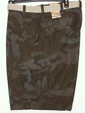 NWT Men's Foundry Belted Cargo Shorts Big & Tall Size 44 46 48 Dark Olive Camo