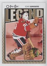 2009-10 O-Pee-Chee #599 Tony Esposito Chicago Blackhawks Hockey Card