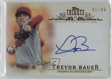 2013 Topps Tribute Certified Autograph Issue Autographed TA-TB Trevor Bauer Auto