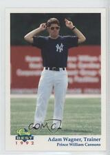 1992 Classic Best Prince Willaim Cannons #29 Adam Wagner William Baseball Card
