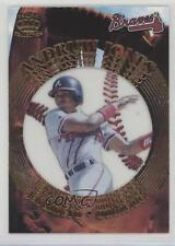 1997 Pacific Crown Collection Prism Gate Attractions #GA-17 Andruw Jones Card