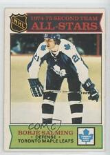 1975-76 O-Pee-Chee #294 Borje Salming Toronto Maple Leafs Hockey Card