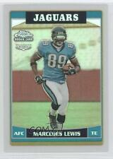 2006 Topps Chrome Refractor #237 Marcedes Lewis Jacksonville Jaguars Rookie Card