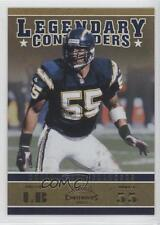 2011 Playoff Contenders Legendary Gold #24 Junior Seau San Diego Chargers Card