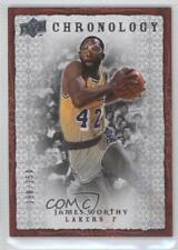 2007-08 Upper Deck Chronology 44 James Worthy Los Angeles Lakers Basketball Card