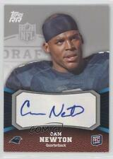2011 Topps Rising Rookies Rookie Autographs Autographed 130 Cam Newton Auto Card