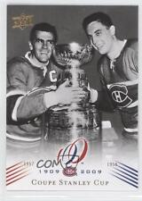 2008 #186 Coupe Stanley Cup (Montreal Canadiens Team) Montreal Team Hockey Card