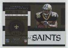 2011 Playoff Contenders Ticket #213 Mark Ingram New Orleans Saints Football Card