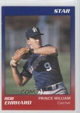 1989 Star Prince William Cannons #7 Rod Ehrhard Rookie Baseball Card