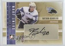 2011 In the Game Heroes and Prospects Autographs #A-NB Nathan Beaulieu Auto Card