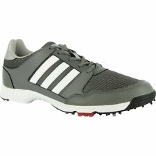 MENS ADIDAS TECH RESPONSE 4.0 GOLF SHOES F33464 IRON/METALLIC SILVER/WHITE