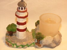 Collectible Hilton Head Lighthouse with Votive Candle Holder