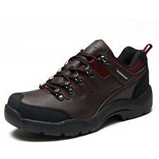 GOMNEAR big size waterproof trail hiking shoes non slip wearable breathable shoe
