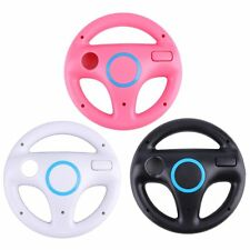Game Racing Steering Wheel for Nintendo Wii Mario Kart Remote Controller Hot FE