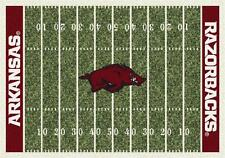 Arkansas Razorback Football Field Rug