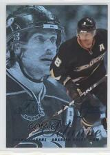 2012 Fleer Retro #42 Teemu Selanne Anaheim Ducks (Mighty of Anaheim) Hockey Card