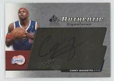 2004-05 SP Signature Edition AS-CM Corey Maggette Los Angeles Clippers Auto Card
