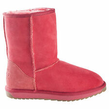 Classic Short Red UGG Boot Made in Australia JUMBUCK UGG Boots 8 Lady