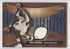 2003-04 Fleer Patchworks Courting Greatness Jersey CG-JH Josh Howard Rookie Card
