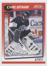 1991-92 Score Canadian Bilingual #132 Daniel Berthiaume Los Angeles Kings Card
