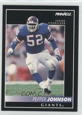 1992 Pinnacle Samples #5 Pepper Johnson New York Giants Football Card