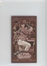 2012 Topps Gypsy Queen Mini Sepia #278 Dustin Ackley Seattle Mariners Card