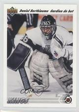 1991-92 Upper Deck French #150 Daniel Berthiaume Los Angeles Kings Hockey Card