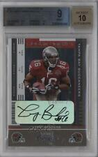 2005 Playoff Contenders #150 Rookie Ticket Larry Brackins BGS 9 Auto Card