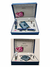 NINA MYERS:WOMEN'S ANALOG QUARTZ WATCH,KEY CHAIN,PEN, AND EARRINGS, GIFT SET