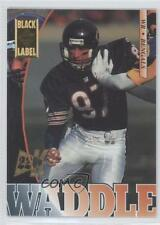 1995 Collector's Edge Black Label 22K Gold #41 Tom Waddle Chicago Bears Card